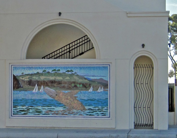 Dana point pch pedestrian bridge the city of dana point for Crossing the shallows tile mural
